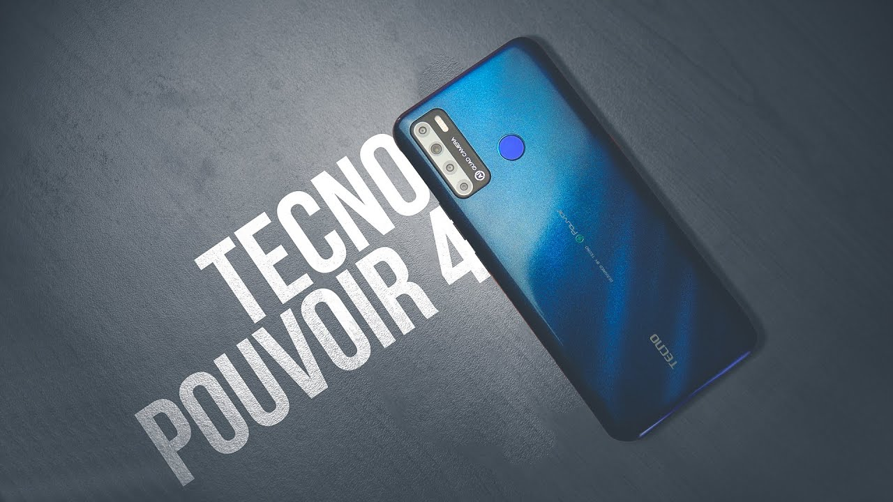 Tecno Pouvoir 4 - The Big Beast Smartphone | ATC