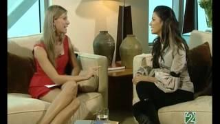 Anne Igartiburu entrevista a Eva Longoria