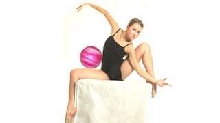 Художественная гимнастика. Мячик.