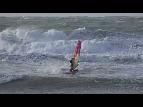 Storm Ophelia in Wissant with Romain Cordier