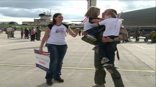 480th Fighter Squadron Returns Home From Afghanistan