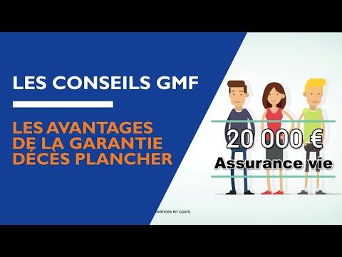GMF - Les avantages de la Garantie Décès Plancher