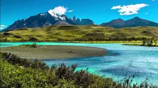 Горные пейзажи с лёгкой музыкой (HD 1:36:23)