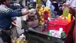 Chinese Sugarcane Juice Machine
