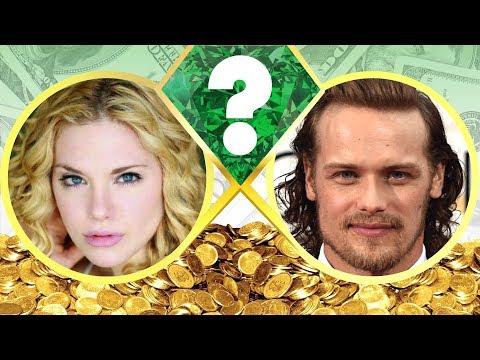 WHO'S RICHER?  Mackenzie Mauzy or Sam Heughan?  Net Worth Revealed! 2017
