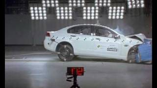 Holden Commodore Omega 2007 ANCAP Crash Test 4 Stars