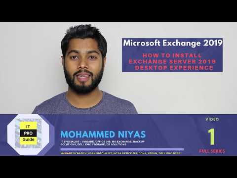 How to install Microsoft Exchange Server 2019 | Step by Step | Video 1