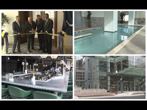 Governor joins launch of new Norfolk hotel, calls the facility a