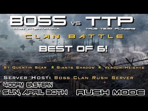 [BOSS] Clan International vs True Team Players [TTP]