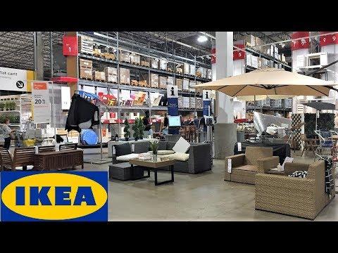IKEA SUMMER OUTDOOR PATIO FURNITURE HOME DECOR - SHOP WITH ME SHOPPING STORE WALKK THROU