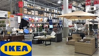 Ikea Summer Outdoor Patio Furniture Home Decor   Shop With Me Shopping Store Walkk Throu