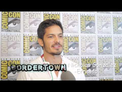 Nicholas Gonzalez (Ernesto) talks about new show Bordertown