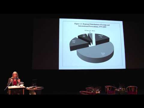 The Justice Cascade lectures: Prof. Sikkink