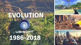 Evolution of Ubisoft Games 1986-2018