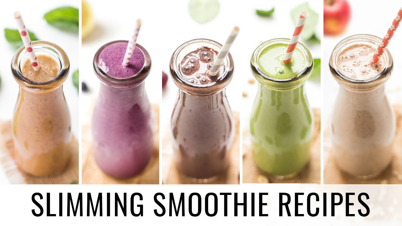 Healthy Smoothie Recipes 5 Smoothies For Weight Loss Youtube