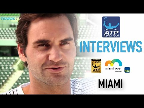 Federer Aims To Build On Perfect Season Start At Miami 2017