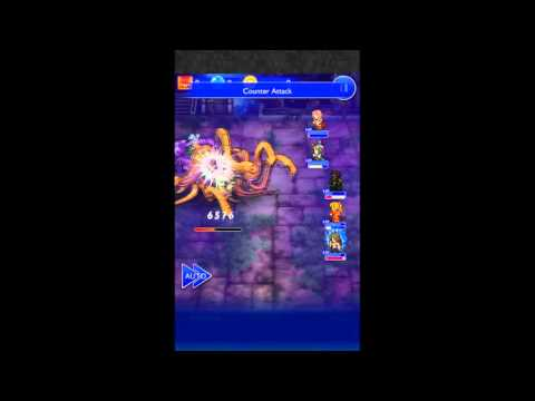 "「Final Fantasy Record Keeper」 Event ~ Defying Fate: ""Elite Lv99"" - 동영상"