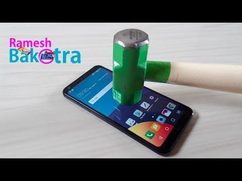 LG Q6 Screen Scratch Test Gorilla Glass 3