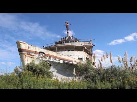 Entramos A Un Barco Enorme En Ruinas Y Encontramos Esto