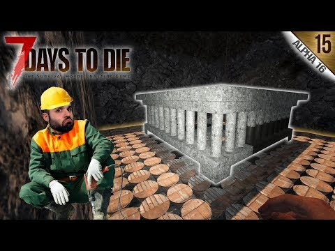 7 DAYS TO DIE A16 #15 | LA JAULA GRECO-ROMANA | Gameplay Español