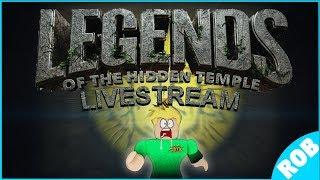 🔴Live: ROBLOX - Legends Of The Hidden Temple - S3 E4 - (Klassische Episode!)