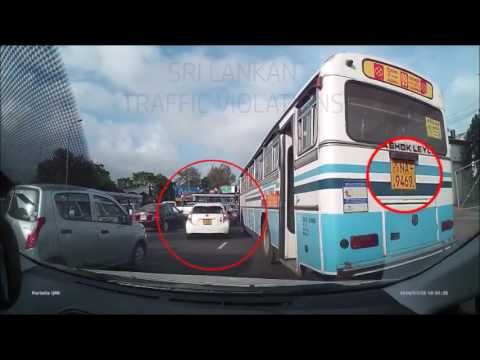 Bus Conductor try to fight with car driver