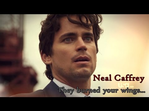 Neal Caffrey || They burned your wings...