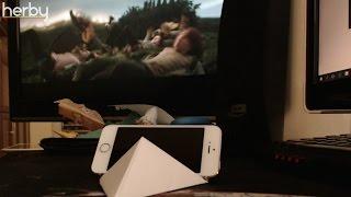 A legegyszerűbb origami mobil tartó