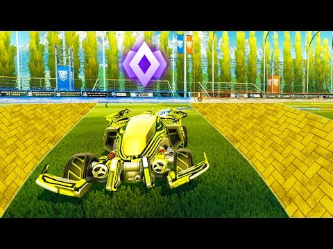 THE YELLOW BRICK ROAD TO CHAMPION   ROCKET LEAGUE