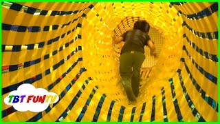 GIANT Indoor Playground Fun HUGE Trampolines Slides for Kids Play Center