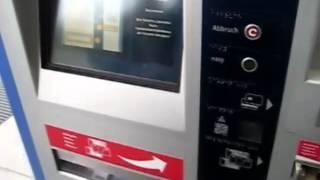 Как купить билет в метро в Германии Мюнхен