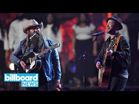 Justin Timberlake Kicks Off 2018 Brit Awards By Bringing Out Chris Stapleton | Billboard News
