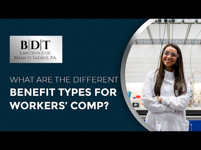 What Are The Different Benefit Types For Workers' Comp?