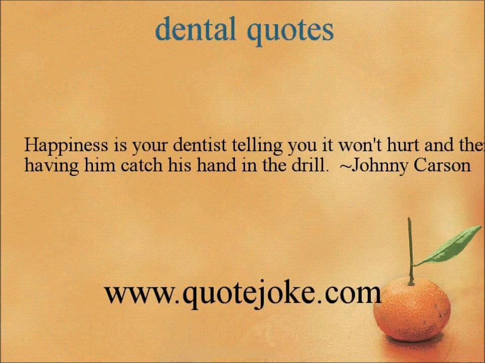 Dental Quotes Impressive Dental Quotes  Httpquotejoke  Youtube