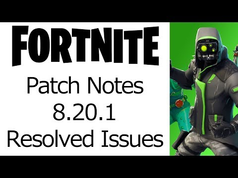 Fortnite 8 20 Content Update Patch Notes Guide Interior Design