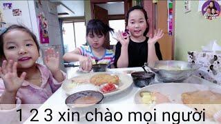 Vlog 212 || 3 Chị Em Tự Quay Video , Ăn 2 Dĩa Thịt Chiên Xù Kiểu Nhật & 1 Thau Cơm Trộn Và Cái Kết??