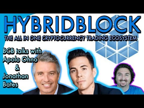 Hybridblock CEO J.B. & Co-Founder Apolo Ohno chat with BCB about their all-in-one trading ecosystem