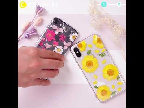 Pressed Flower Resin Phone Case!
