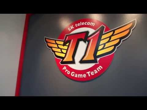 SK Telecom T1 Training Facility Tour #TeamRazer