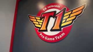 SK Telecom T1 Training Facility Tour #TeamRazer