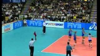 Mondiali Volley 2002 - Finale Italia-Usa 3°Set (1-2)