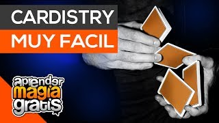 Cardistry facil | corte falso | aprender magia gratis