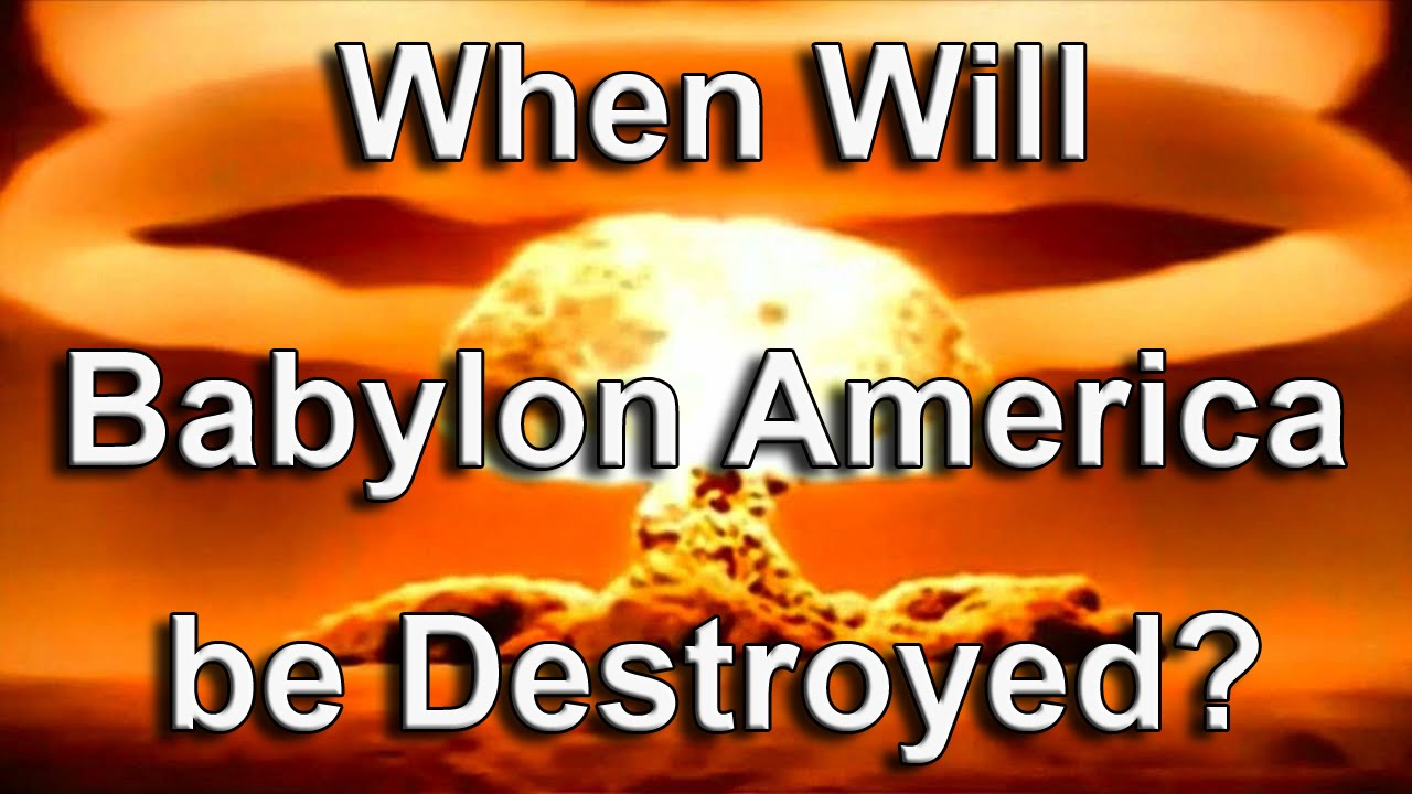 Image result for Babylon the Great! America!