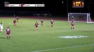 Highlights: Cornell Women's Soccer vs Colgate - 10/15/19