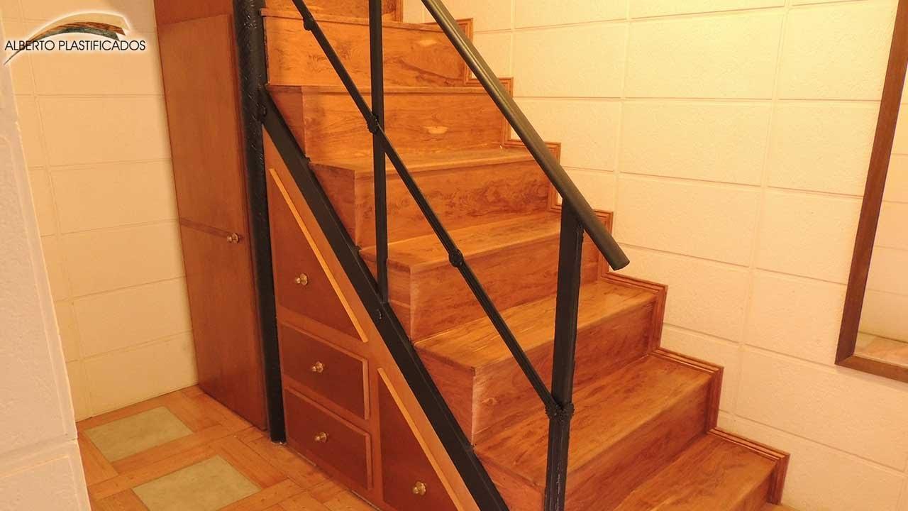 Antes Y Después Escalera Mueble