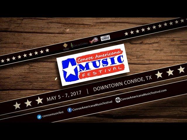 Conroe Americana Music Festival in Downtown Conroe