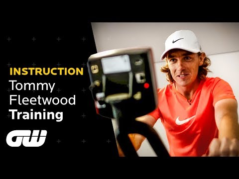 Tommy Fleetwood Gym Session: Behind The Scenes | Instruction | Golfing World