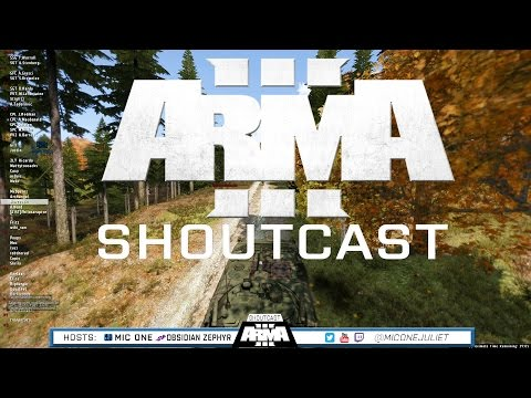 ARMA 3 ShoutCast - Uphill Battle  - Ep. 17