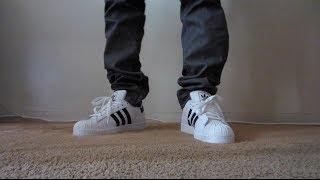 Adidas Superstar 2 On Feet (Shell Toe