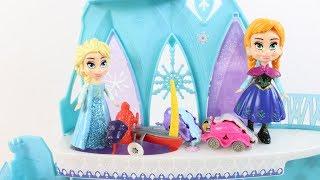 Elsa Ve Anna Çizgi Filmler Elsa Sarayında Parti Yapıyor Oyuncaklar Eğitici Videolar